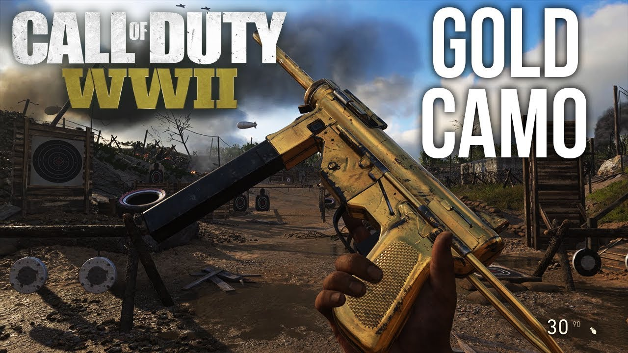call of duty ww2 how to change your weapon