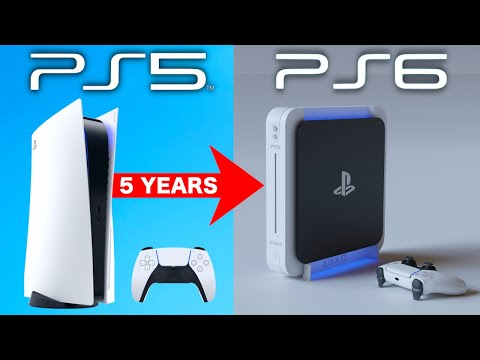 PS5 To PS6 To Be Only 5 Years - Sony Ending PS5 Life Span In 2025? (PS5 News)