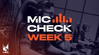 LEC Mic Check: Week 5   Summer Split 2019 thumbnail