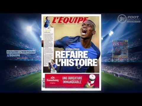 Pogba héritier de Zidane et Platini, l'Angleterre galère à Marseille !