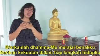 Fani Chrisyanti - Dhamma Di Hatiku (Videoklip karaoke)