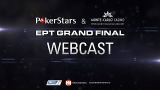 EPT Monaco 2015 Live Poker Tournament Super High Roller, Cards UP – PokerStars