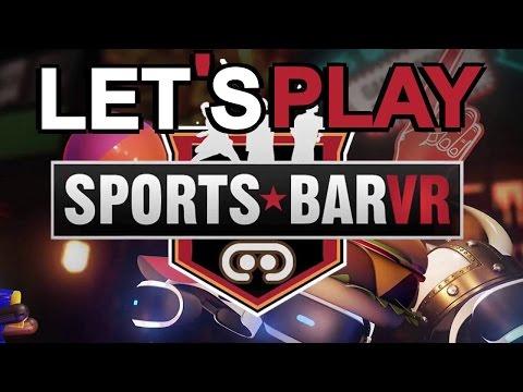 DécouVRez : Sports Bar VR (PSVR) | VR Singe