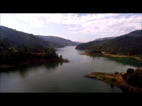 Cyprus nature - Όμορφη Λίμνη στο δάσος - Φράγμα Αρμίνου