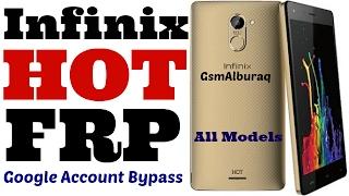 Infinix Hot 4,Infinix Zero 4 Remove Google Account (FRP) Bypass Android 6.0 Easiest Way