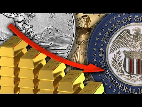 Gold & Silver Slump On Fed Statement And No Rate Hike