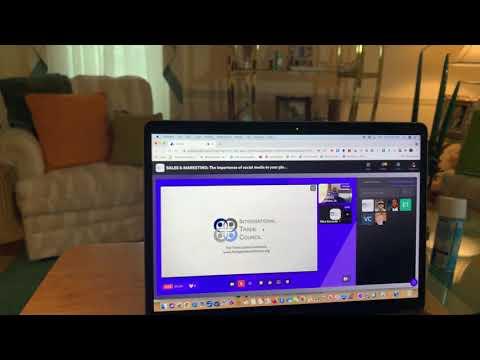 Zennie Abraham Zennie62Media Presentation On Social Media For Your International Trade Business