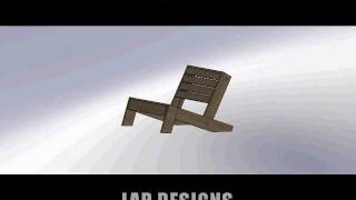 Modern Reclining Adirondack Chair
