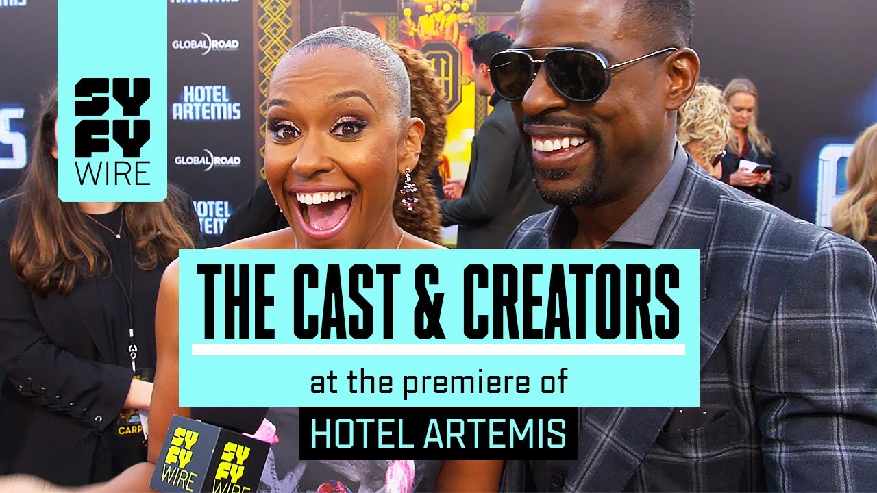 Hotel Artemis Red Carpet: Jodie Foster Predicts The Future | SYFY ...
