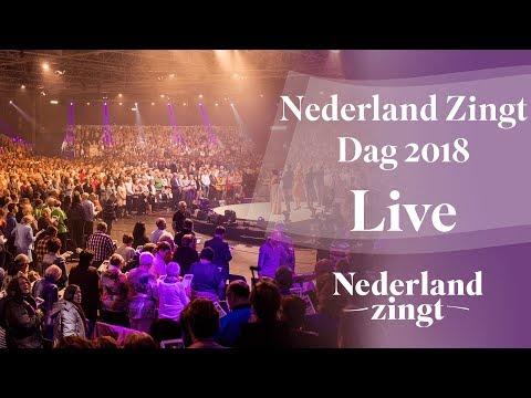 Livestream van de Nederland Zingt Dag 2018