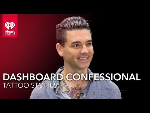 Dashboard Confessionals Chris Carrabba Shows Off His Ink  Tattoo Stories