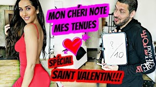 MON CHÉRI NOTE MES TENUES DE SAINT VALENTIN ❤️