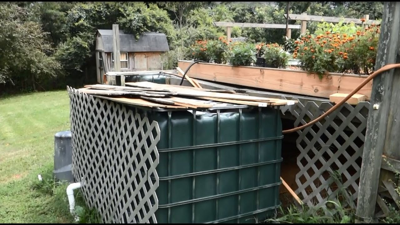 outdoor tilapia aquaponics setup easy and cheap part 2 youtube