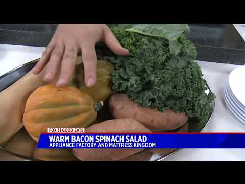 Chef Mark Good Eats- How to Make Warm bacon spinach salad