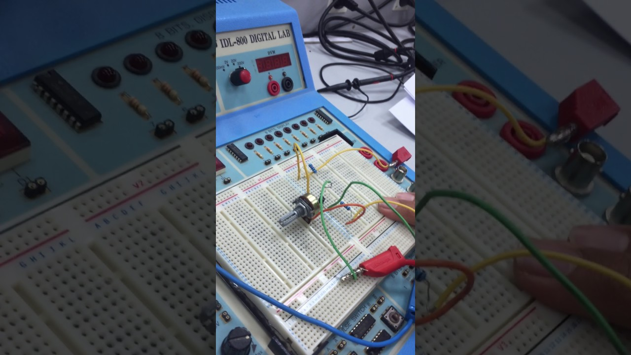 Experiment6 Transistors Voltage Divider Biasing Collector Potential For Digital Voltmeter Pic Circuit Feedback