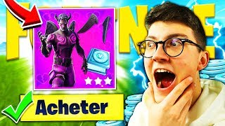 I BUY the NEW PACK EXCLU! FORTNITE Battle Royale