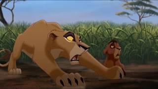 The Lion King 2: Simba's Pride (Lví král 2: Simbův příběh) - Zira's and Simba's argument (Czech) HD