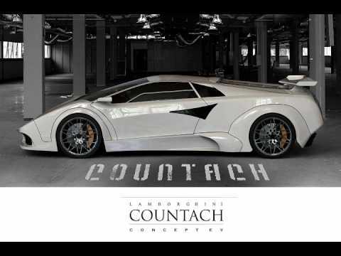 Lamborghini Countach Concept Ev Youtube