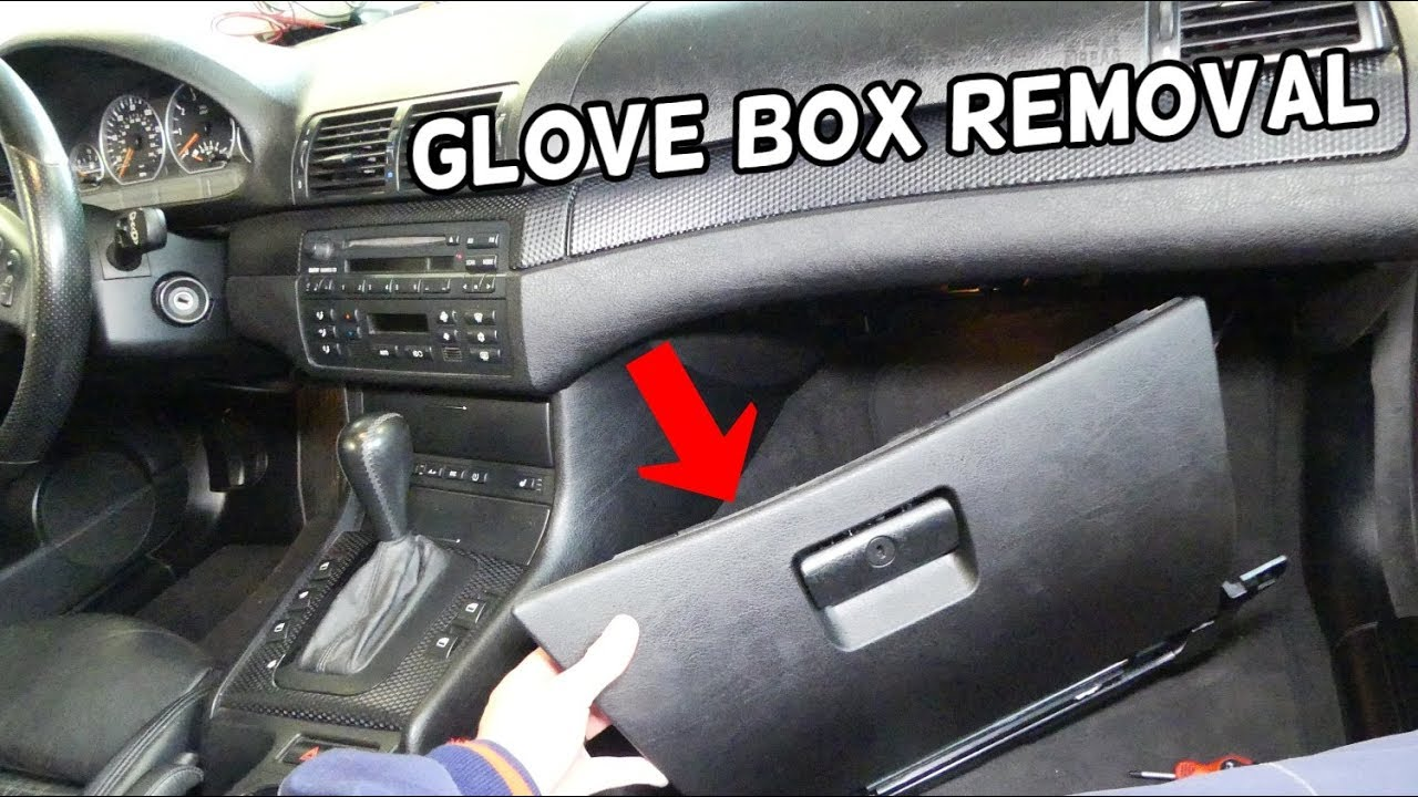 Bmw E46 Glove Box Removal Replacement Glovebox Broken Youtube