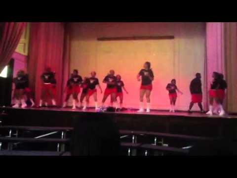 Al raby cheer/Pom ttu 3rd day of school 2012