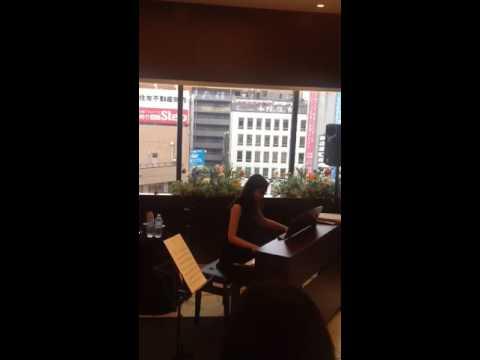 Takako Takahashi is playing Gershwin in Choufu Parco!