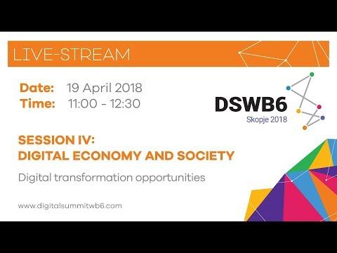 Session IV: Digital economy and society