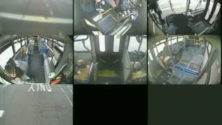 Video show seconds before Metro Bus crash