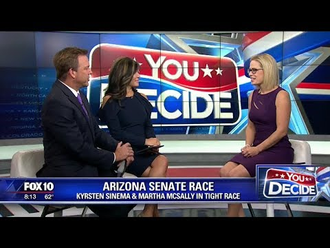 You Decide 2018: Kyrsten Sinema