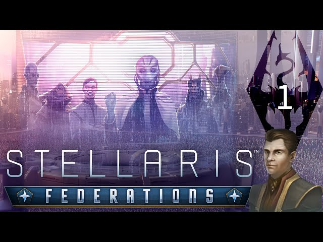 The Empire of Tamriel in Stellaris: Federations, Part 1