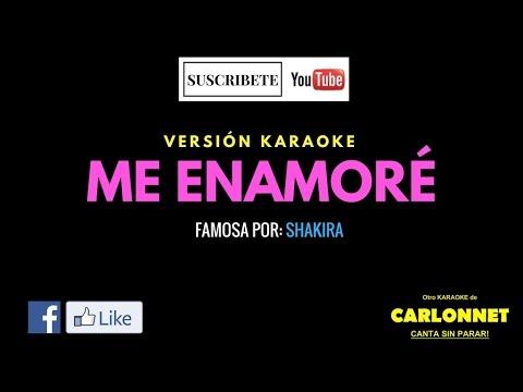 Me enamoré - Shakira (Karaoke)
