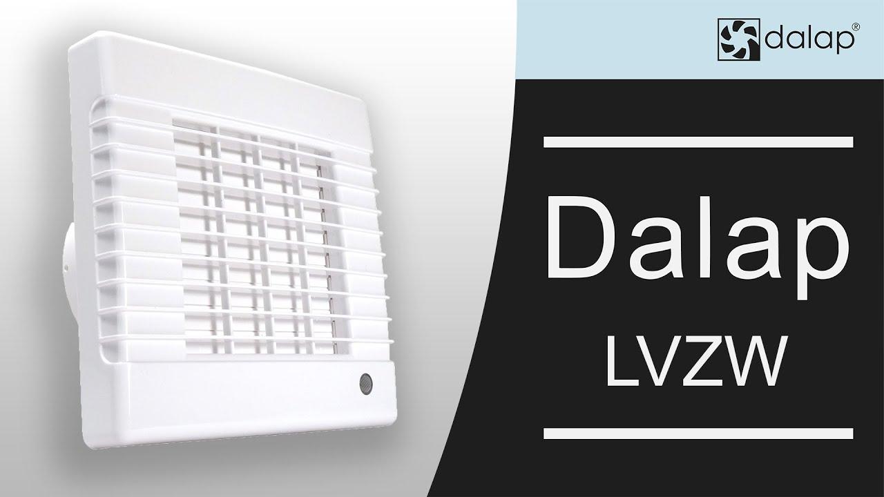 Dalap LV automata zsalus fürdőszobai ventilátor bemutatása - YouTube