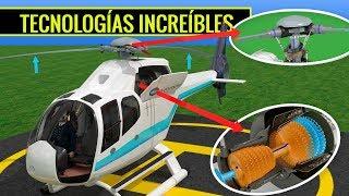 ¿Cómo vuela un helicóptero?