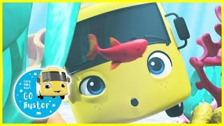 Buster In The Ocean | GoBuster Official | Nursery Rhymes | Videos for Kids |  ABCs and 123s
