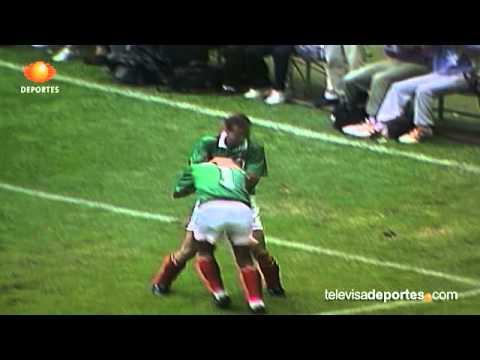 Futbol Retro: Mexico vs. Martinica 9-0   Copa Oro 1993   11-julio-1993