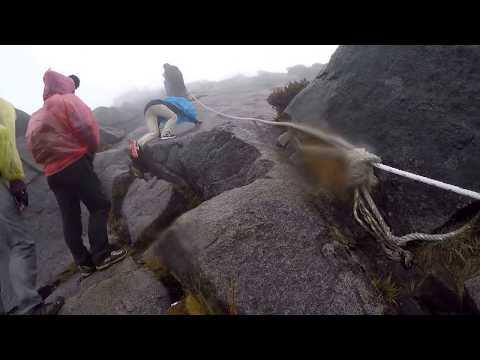 Summiting Kota Kinabalu in Bad Weather