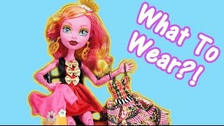 What To Wear With Monster High Gooliope Jellington And Fan Mail