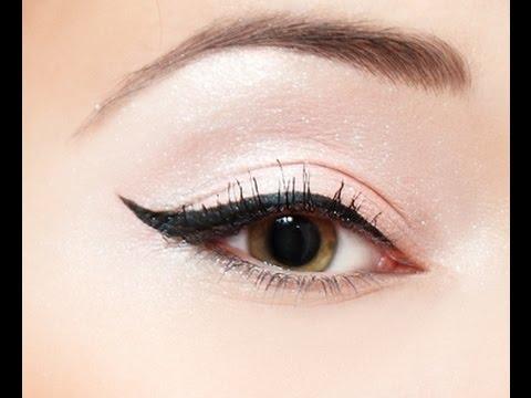 3 formas de delinear los ojos principiantes viyoutube - Ojos ahumados para principiantes ...