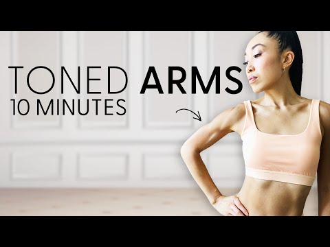 Toned Arms at Home Workout! Apartment Friendly ☺️