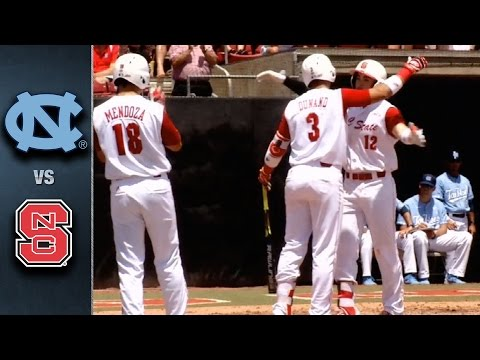 North Carolina vs. NC State Baseball Highlights (May 21, 2016)