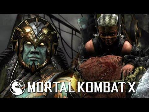 Mortal Kombat X - Kotal Kahn vs Ferra/Torr PS4 Gameplay TRUE-HD QUALITY