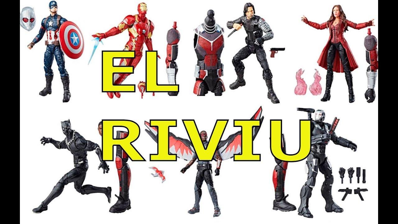 "Marvel Legends Captain America Civil War Black Panther 6/"" Loose Action Figure"
