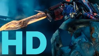 Transformers Dark Of The Moon Optimus Prime vs Shockwave - Driller