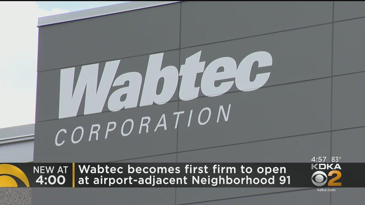 Wabtec Opens 3D Printing Plant Near Pittsburgh International Airport