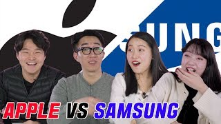 """Gambar cover What Koreans Think About """"Apple VS Samsung"""" [Korean Bros]"""