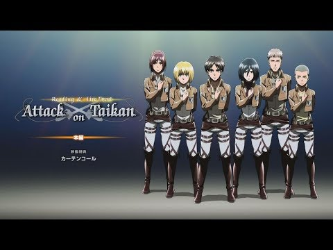 [EngSub] Part of Attack on Titan Reading & Live Event「Attack  Sound  Bodily-Sensation」