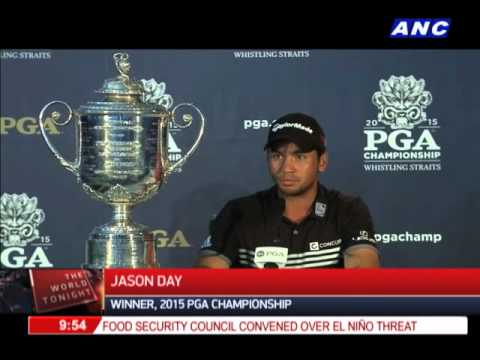 Fil-Aussie Jason Day wins PGA Championship in record style