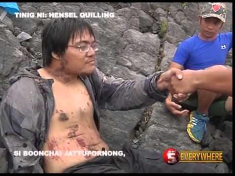 NEWS5 EXCLUSIVE | PAGSAGIP SA THAI SURVIVOR NG MAYON VOLCANO ERUPTION