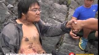 NEWS5 EXCLUSIVE | PAGSAGIP SA THAI SURVIVOR NG MAYON VOLCANO ERUPTION
