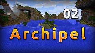 Minecraft Archipel 02 - Le teet'Île