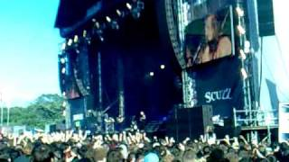 Bullet For My Valentine - Tears Dont Fall - Live -  Download Festival 2010 + Mosh Pits